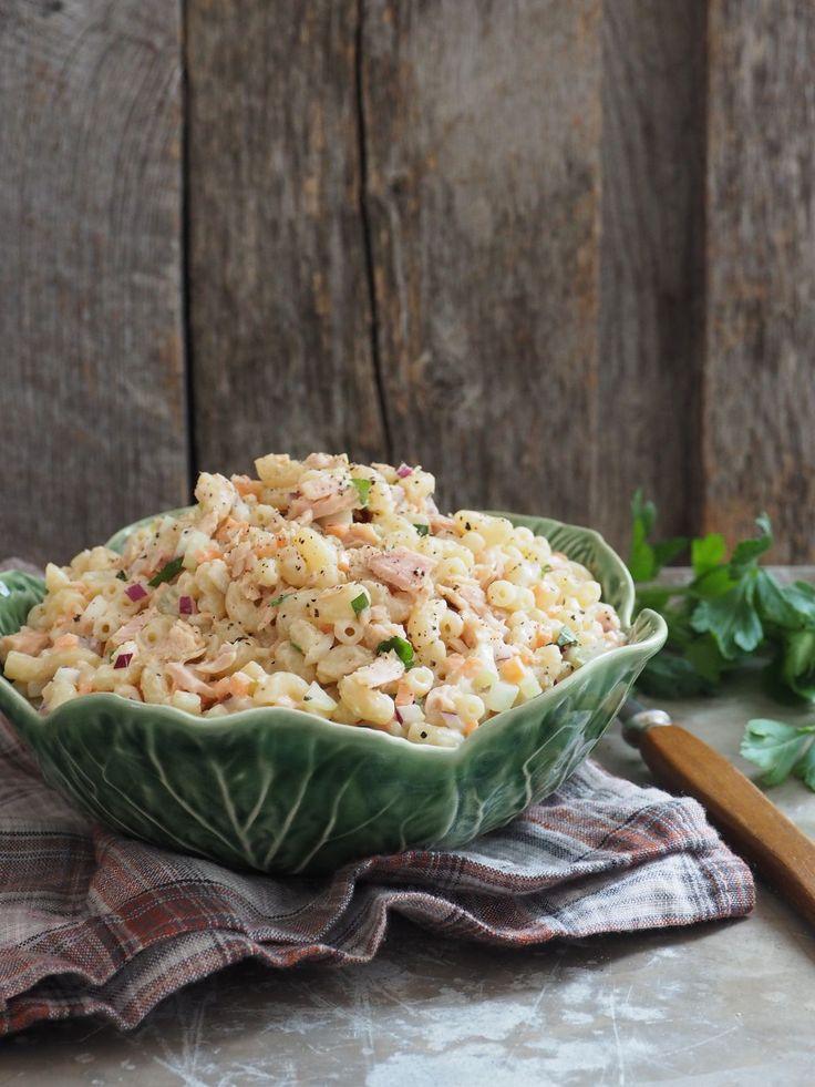 Makaronisalat med tunfisk