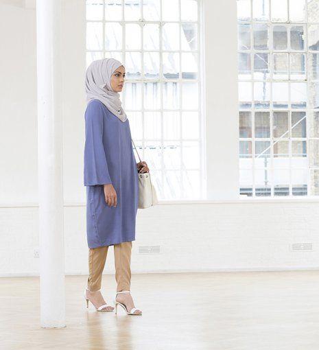 blue midi kimono dress