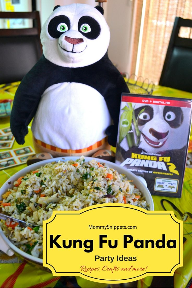 Kung Fu Panda Party Ideas {Recipes, Crafts and MORE!} - MommySnippets.com #Sponsored #FHEInsiders #PandaInsiders #PandaParty