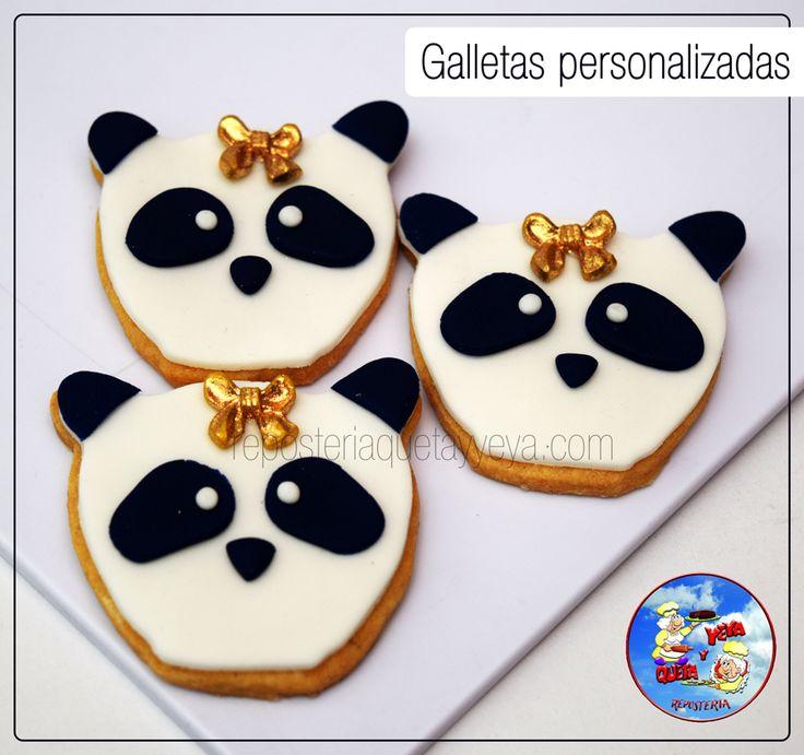 Galletas Oso Panda - Panda Cookies