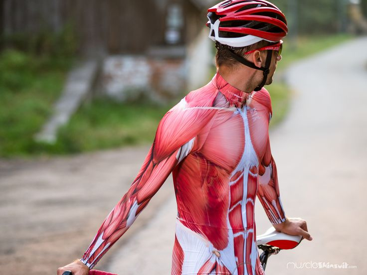 https://flic.kr/p/y8Ecyd | bike clothing | muscle skinsuit long sleeve for cycling. More info about this skin suit on: muscleskinsuit.com/c/16-mss-longshort-pad.html