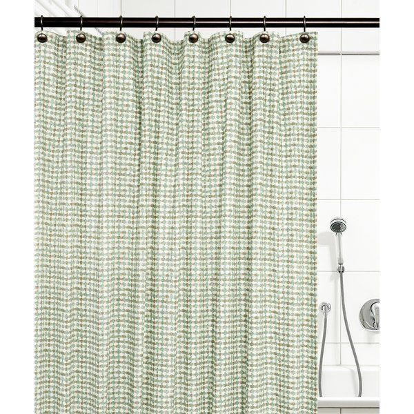 Brandon Ikat Check 100 Cotton Single Shower Curtain Curtains Shower Colorful Curtains