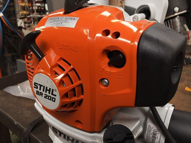 Spring Servicing Continues Good Maintenance Is Essential For Reliable Performance Stihlbr200 Br200 Leafblower Stihldealer Stihl Maintenance Performance