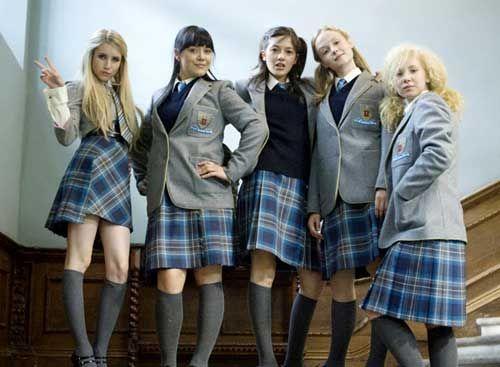 Wild Child Putting an LA spin on English boarding school uniform