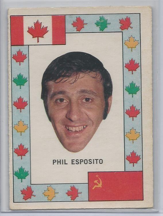 1972-73 OPC NHL HOCKEY TEAM CANADA Phil Esposito Boston Bruins EX #BostonBruins
