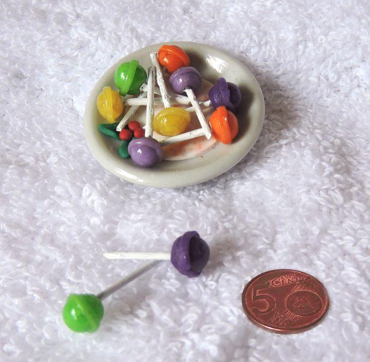 Miniatuur lolly's.