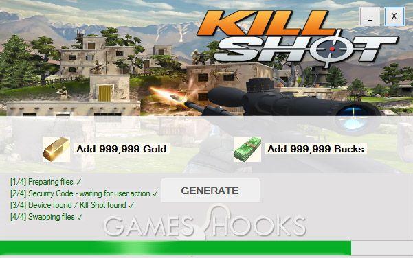 Kill Shot Hack (Mediafire) | Games Hooks