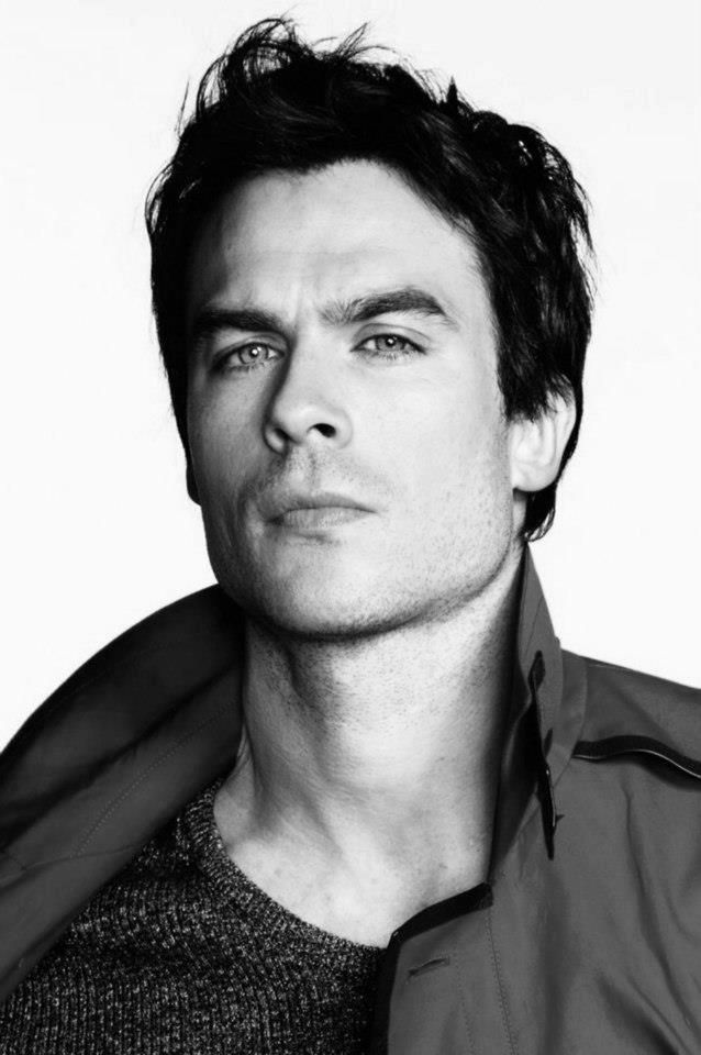 Ian Somerhalder....needs to be Christian Grey for the movie!!