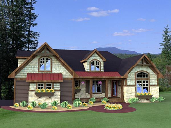 63 best images about house plans on pinterest for Southern craftsman home plans