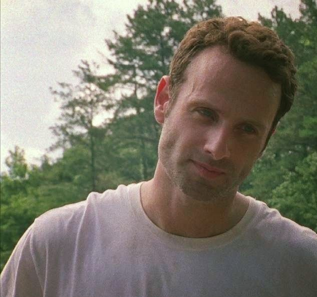 Rick Grimes <3 <3 gosh how is he SO beautiful?!