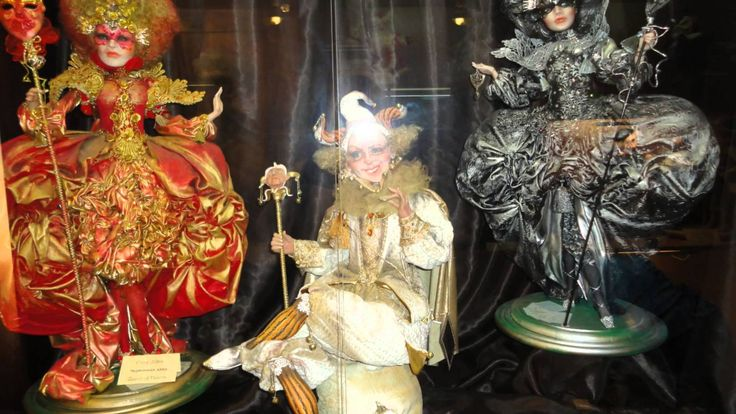 Doll galery, miniature kingdom. Preili, Latvia 2013.g.(Галлерея кукол, м...