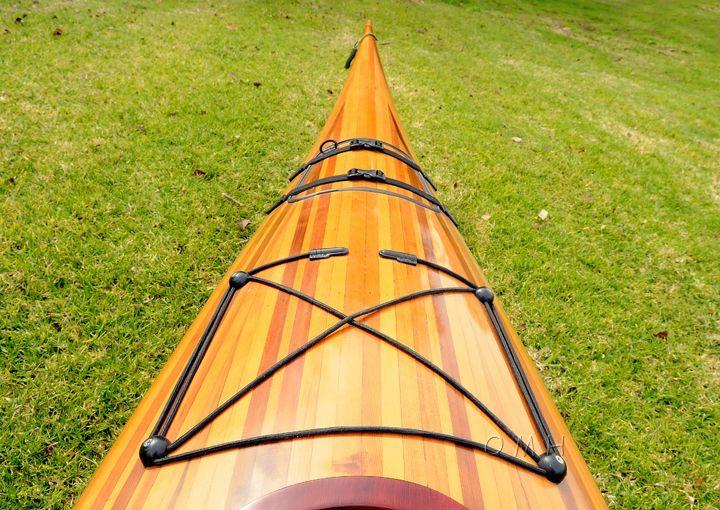 Wooden Kayak - Kayaks For Sale | Wooden Klinaklini Double Kayak
