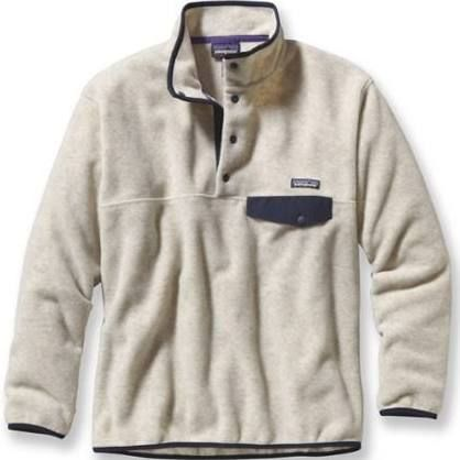 Patagonia Men's Synchilla Snap-T Fleece Pullover Oatmeal Heather L