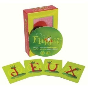Flip-It, French version, Spelling Word Game