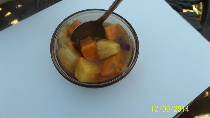 PINEAPPLE AND SWEET POTATOES RECIPE