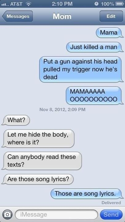 funny text messages. this is my mom :) #mom #family #texts this would be mom...plus....no one can find out!!!!