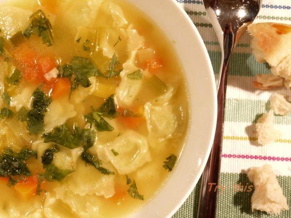 bouillon ravioles 1