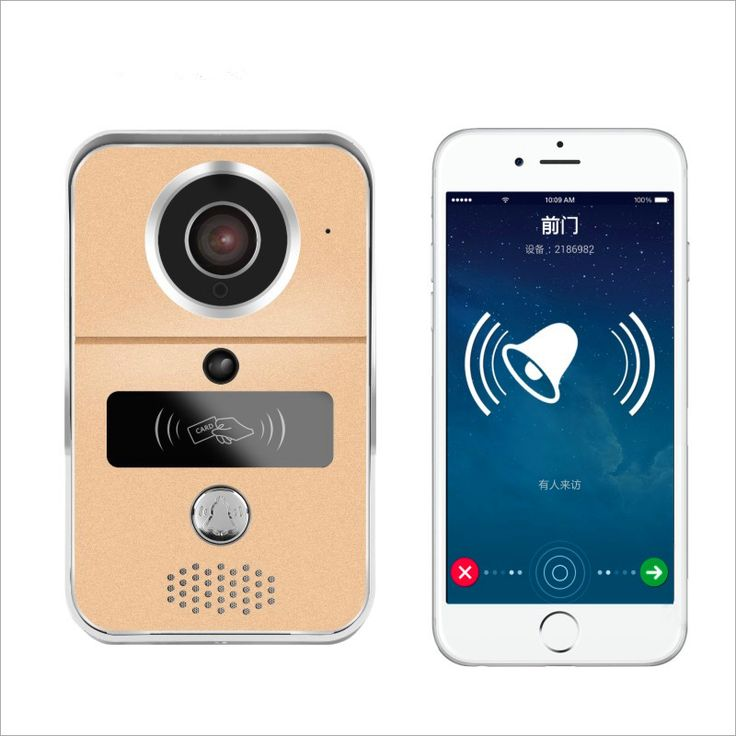 Wireless Wifi Waterproof Video Doorbell Intercom Door Phone Doorbell PIR Motion Activated Support Android/IOS APP