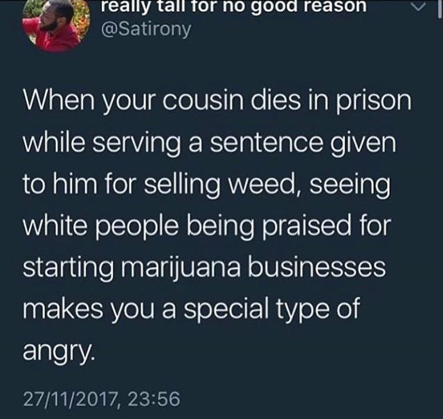 Marijuana should be legalized and every person with a marijuana related conviction should have the conviction reversed and/or expunged.