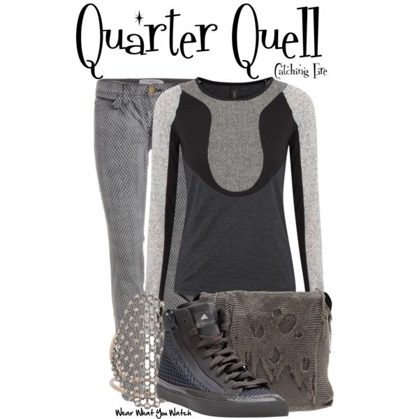 """Quarter Quell (Catching Fire)"" by wearwhatyouwatch on Polyvore"