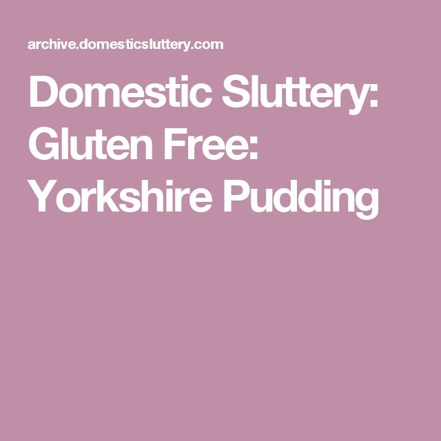 1000+ ideas about Gluten Free Yorkshire Puddings on Pinterest ...