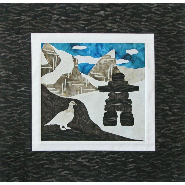 Canada Mystery Quilt from Stitchintheditch.com Canada
