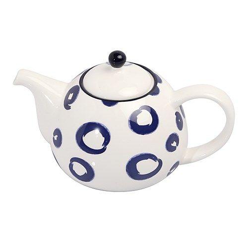 Ambrosia Koko Indigo Circle Teapot   Tea & Coffee - House