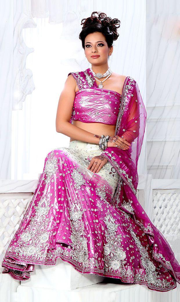 Pink #Designer Lehenga Choli  Check out this page now :-http://www.ethnicwholesaler.com/lehengas/bridal-lehengas