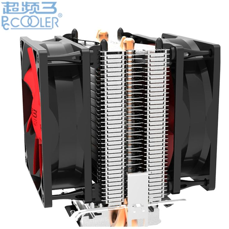 $17.56 (Buy here: https://alitems.com/g/1e8d114494ebda23ff8b16525dc3e8/?i=5&ulp=https%3A%2F%2Fwww.aliexpress.com%2Fitem%2FRetail-box-80mm-fan-2-heatpipe-side-blown-for-Intel-775-1150-115x-for-AMD-754%2F32315650022.html ) Dual-fan 2 heatpipe CPU Cooler cooling for Intel LGA1151 775 1150 1155 radiator for AMD CPU fan PcCooler S80Ex for just $17.56