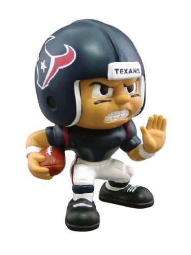Lil' Teammates Series Houston Texans Running Back by The Party Animal Inc.. Save 3 Off!. $9.65. Officially licensed. Interactive website at lilteammates. Series collectible. Rotating heads. 3  inches tall. From the Manufacturer                These little guys, dressed in the uniforms of your favorite teams, are tall and feature very animated faces and rotating heads. Collect all the positions and teams in Series 1, while you can.                                    Product D...