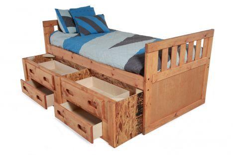 Best Twood 4800 Twcaptain Trendwood Twin Captain S Bed 400 x 300