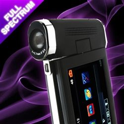 GhostStop Ghost Hunting Equipment - Full Spectrum HD Camcorder with IR and UV (infrared and ultravoilet)