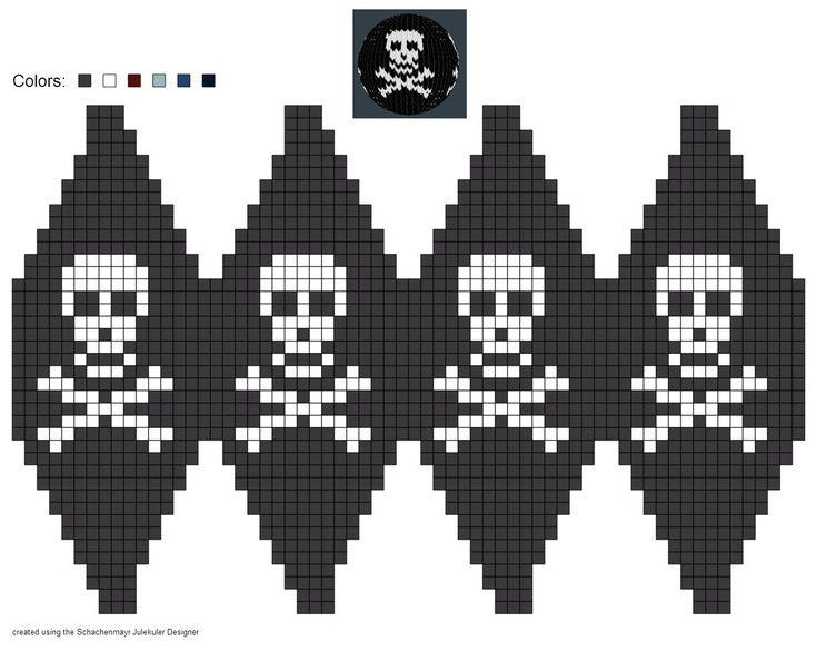 Skull ball pattern