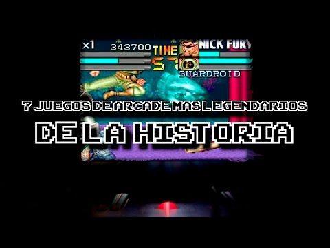 TOP: Los 7 juegos de Arcade más legendarios de la historia | DrossRotzank - YouTube