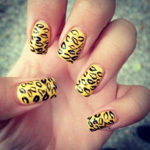 Top 50+ ideas for Yellow Nail art designs   – Diy Yellow Nails