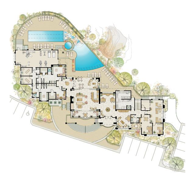 626 best Floor plans and landscaping site plans images on ...