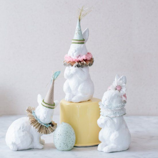 The Elizabethan Bunnies are the perfect budget friendly Easter craft!