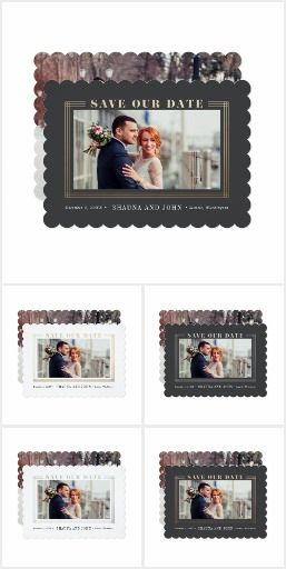 Wedding Save the Date Invitations A showcase of the save the dates from Splendid Supply Co.