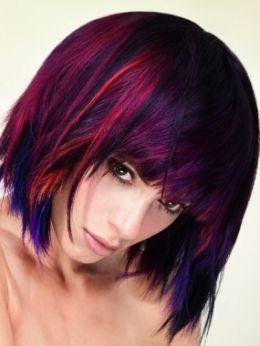 Fiery Hair Color