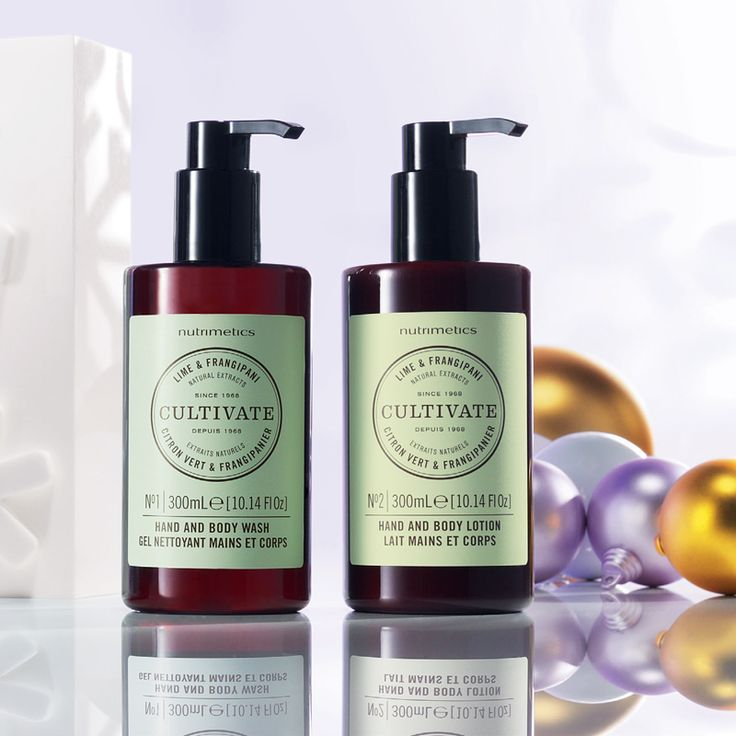 Cultivate Lime & Frangipani Hand & Body Duo 300ml each