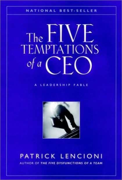 22 best leadership books recommended reading images on pinterest the five temptations of a ceo anniversary edition a leadership fable j b lencioni series by patrick lencioni fandeluxe Gallery