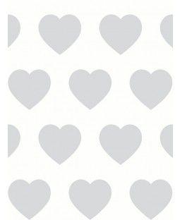Arthouse Sweetheart Wallpaper - Silver 891401