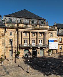 Margravial Opera House, Bayreuth, Bavaria.