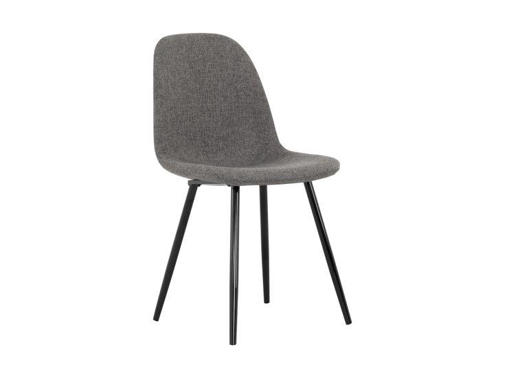 FREDAN Stuhl Grau/Schwarz in der Gruppe Für den Innenwohnbereich / Stühle / Esszimmerstühle bei Furniturebox (100-46-93344)