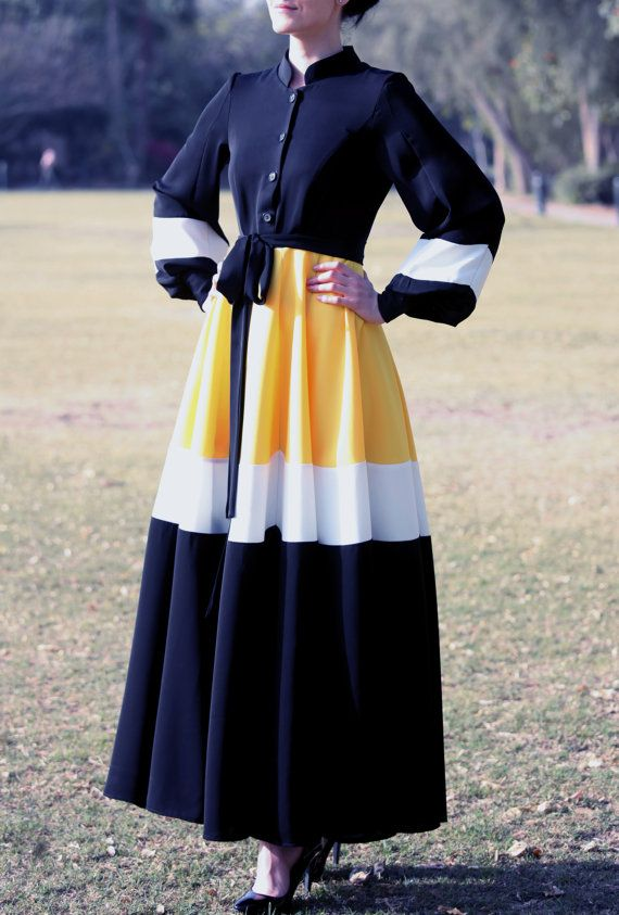Hey, I found this really awesome Etsy listing at https://www.etsy.com/listing/228925441/daisy-abaya-dress-black