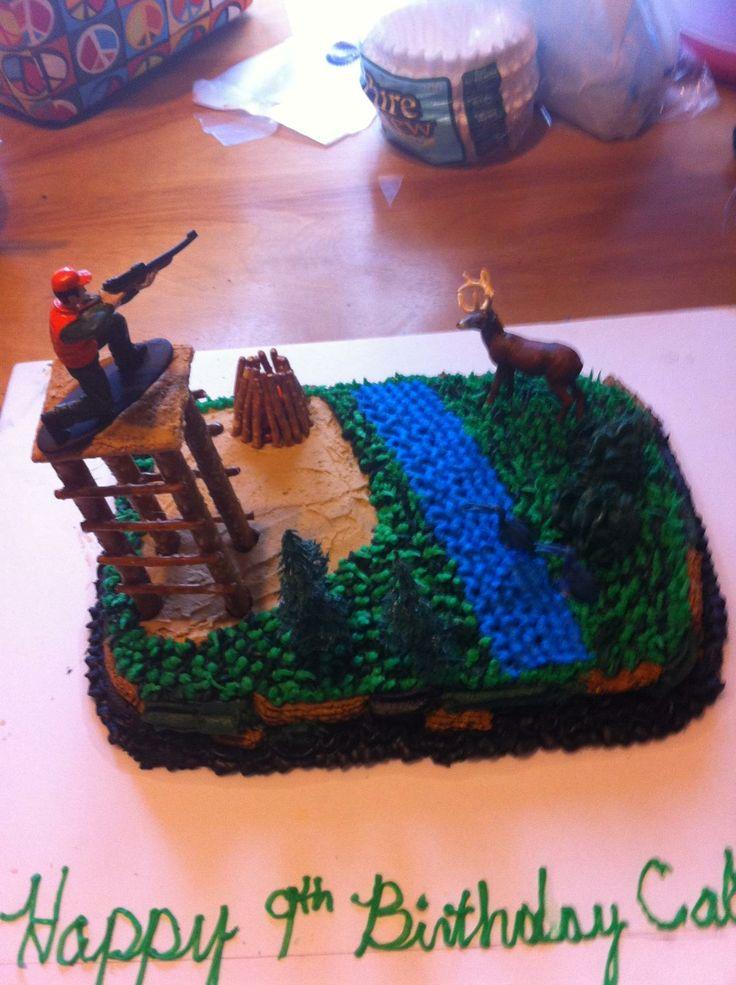 Hunting Cake My Cake Creations Pinterest Trees