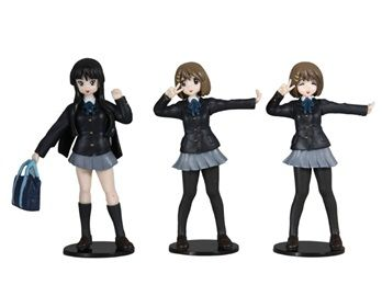 K-ON Action Figures Set of 6 These K-ON action figures are a great desk decoration for your home, office or in your car.