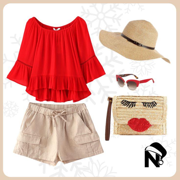Look Nicopoly ideal para estrenar en la playa
