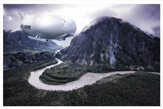 O rockstar, que também é piloto de avião e empresário, fez uma doação para que o projeto do Airlander saia do papel.