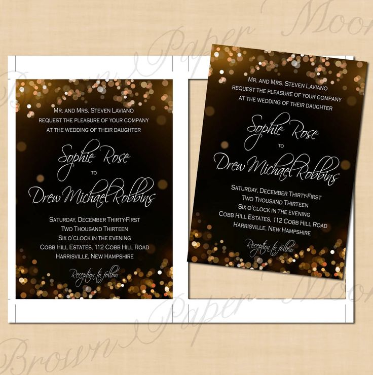 Champagne Bubbles Editable Wedding Invitations: 5 x 7 - Instant Download by BrownPaperMoon on Etsy https://www.etsy.com/listing/100020004/champagne-bubbles-editable-wedding